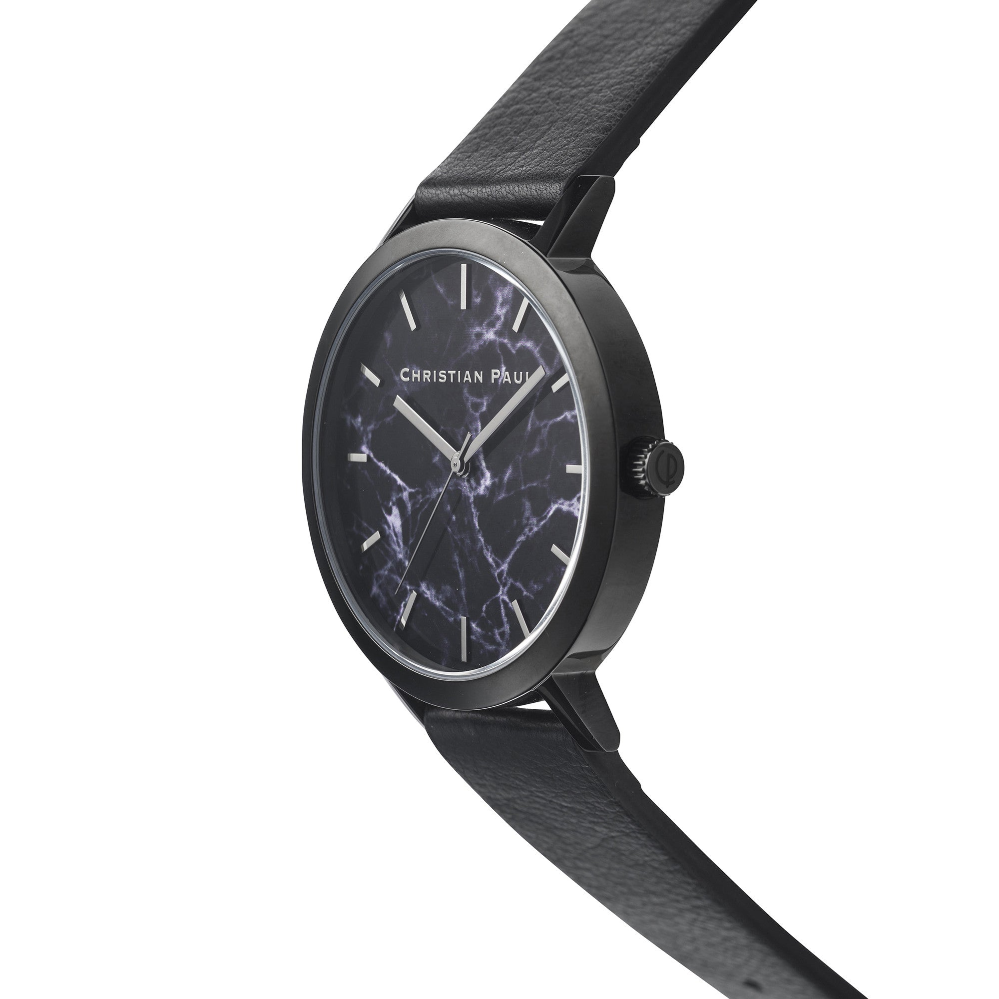 Christian Paul Watch The Strand Marble 43mm / Black on Black | 101.Watch