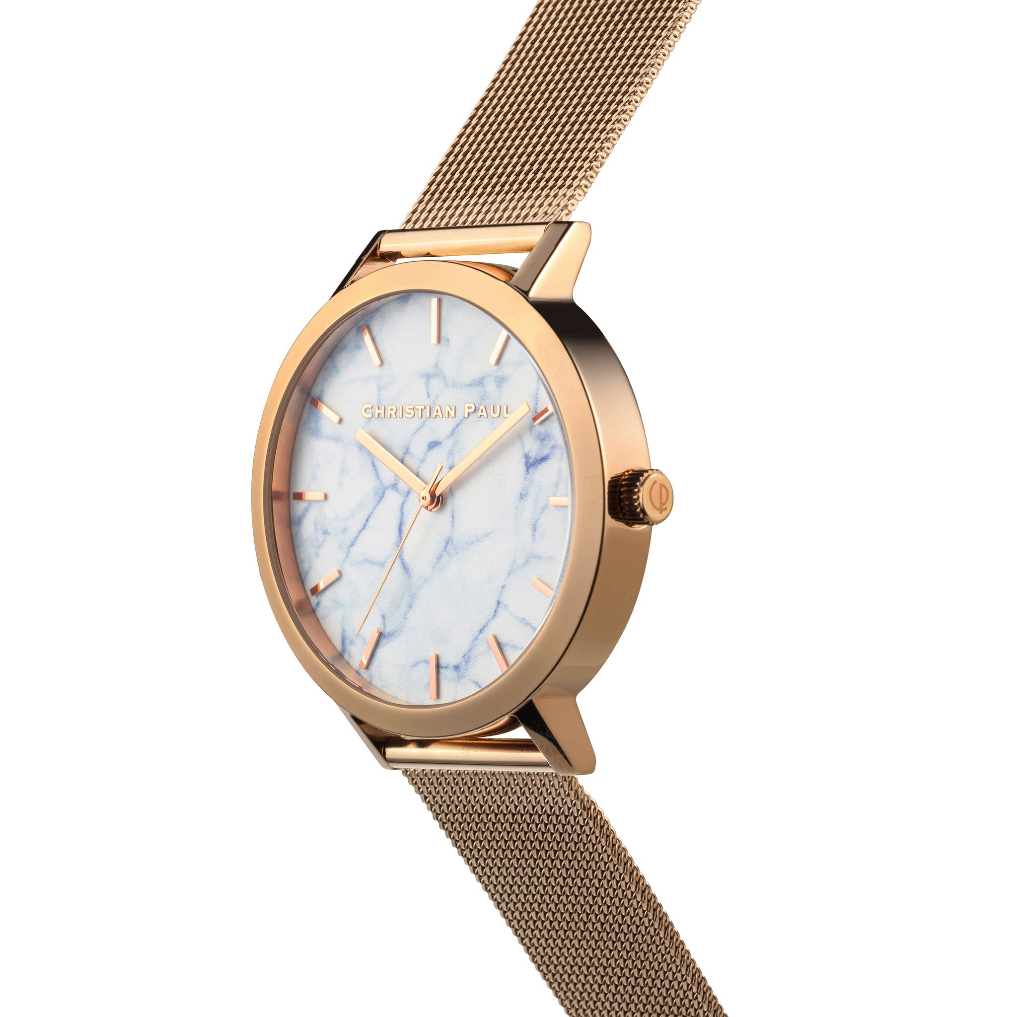 Christian Paul Watch Whitehaven Marble Mesh 43mm | 101.Watch