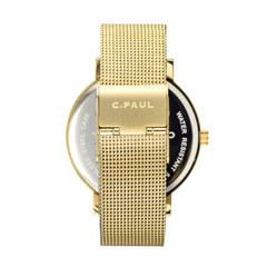 Christian Paul Watch Brighton Marble Mesh 43mm | 101.Watch
