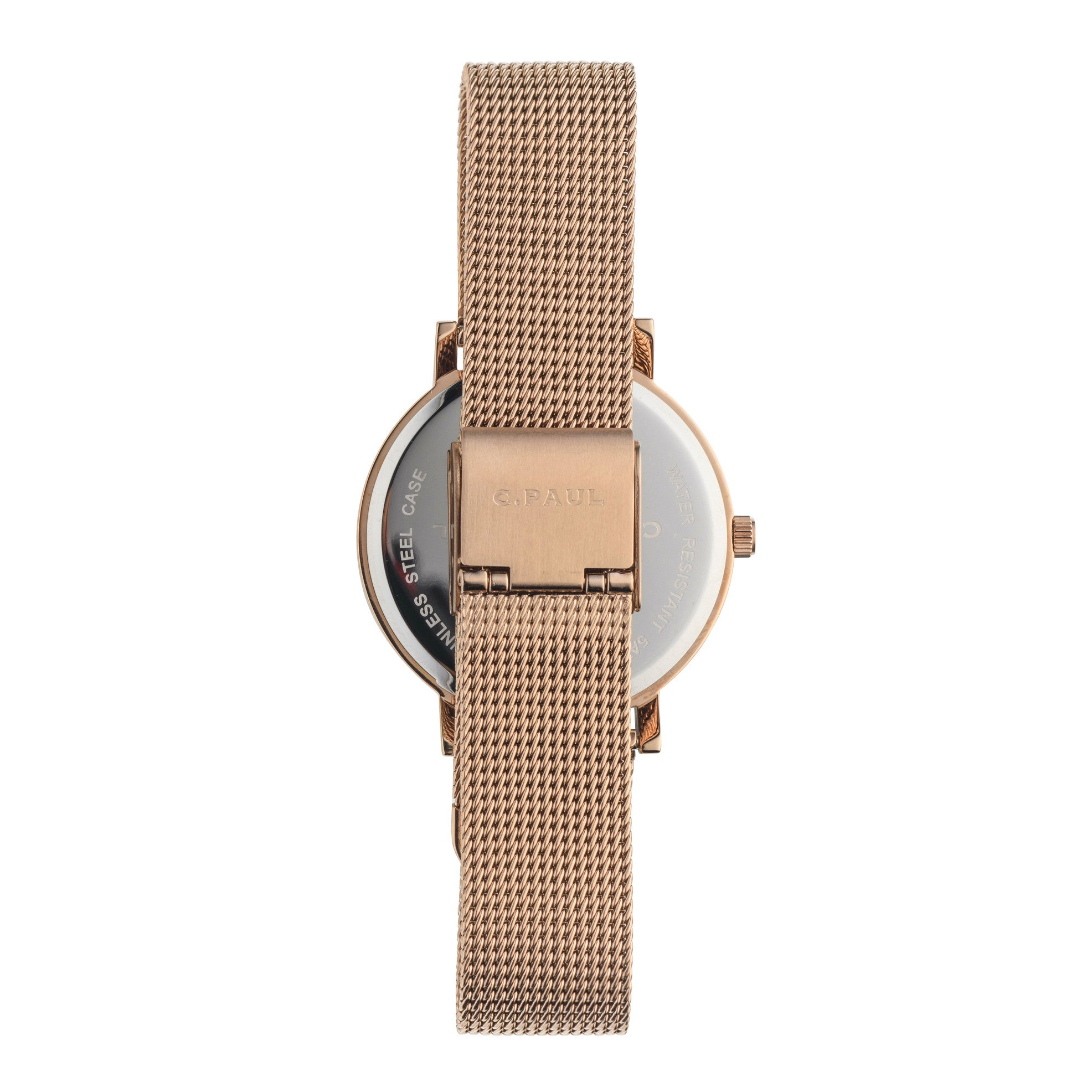 Christian Paul Watch Whitehaven Marble Mesh 35mm