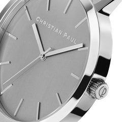 Christian Paul Watch Sydney Silver/Brushed Silver