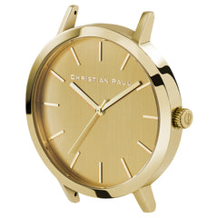 Christian Paul Watch Brisbane Gold 43mm 101.Watch Store USA