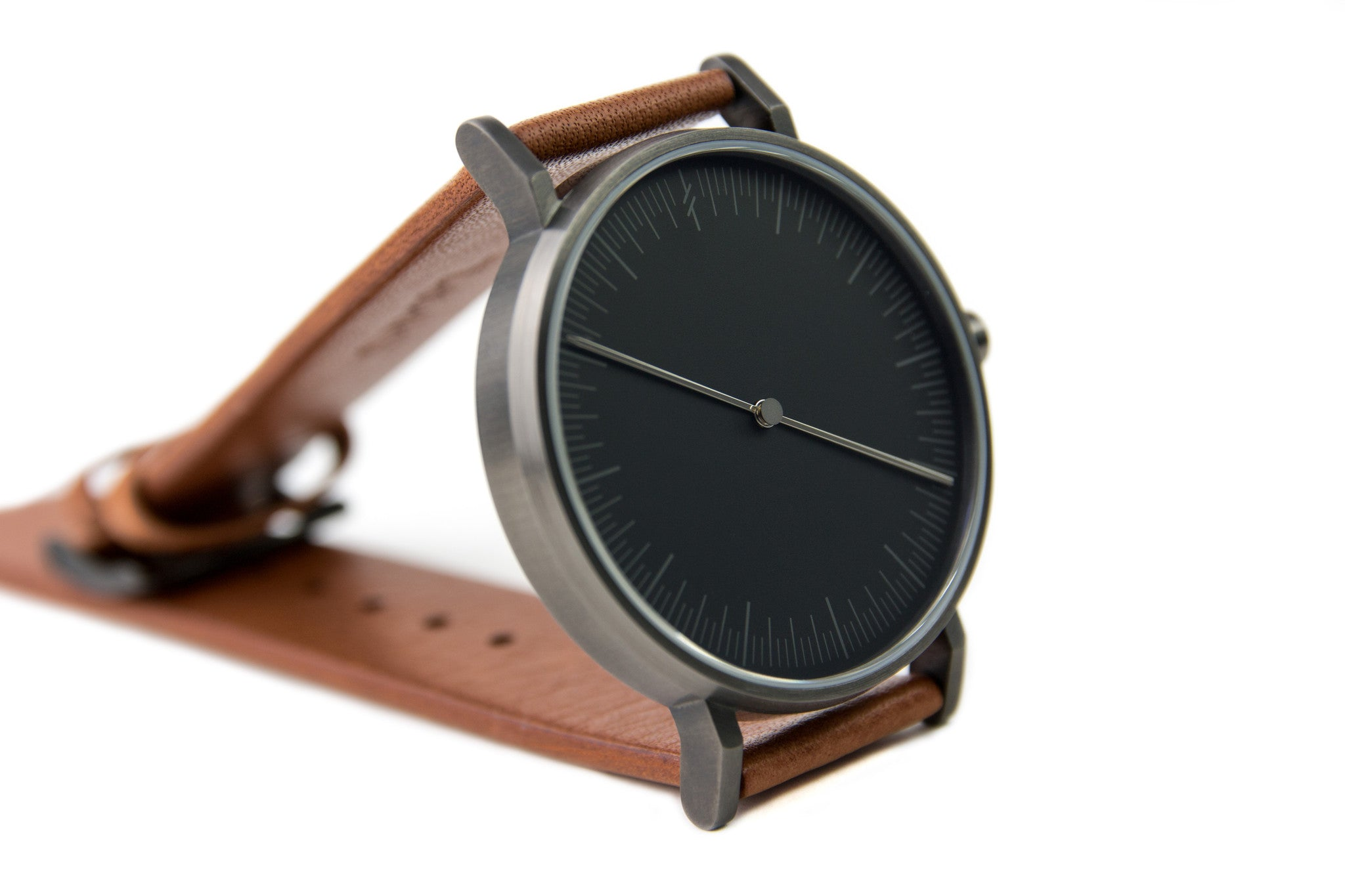 Simpl Watch Onyx Tan