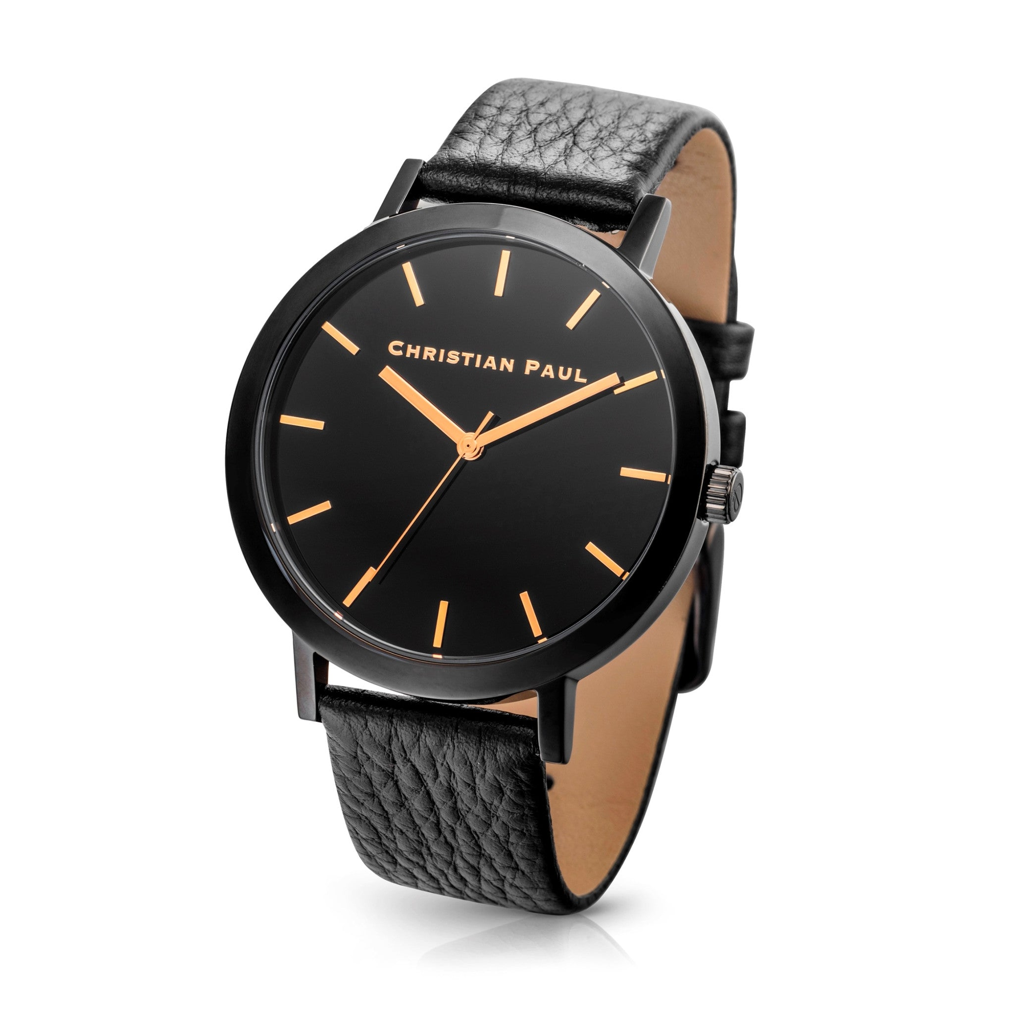 Christian Paul Watch Raw 43mm Black/Black/Black