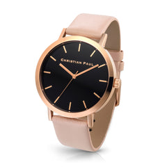 Christian Paul Watch Raw 43mm Rose Gold/Peach