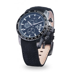 Strumento Marino Freedom Black Leather Strap Chrono Diver Watch | 101.Watch