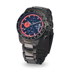 Strumento Marino Freedom Orange & Blue Metal Strap Chrono Diver Watch | 101.Watch
