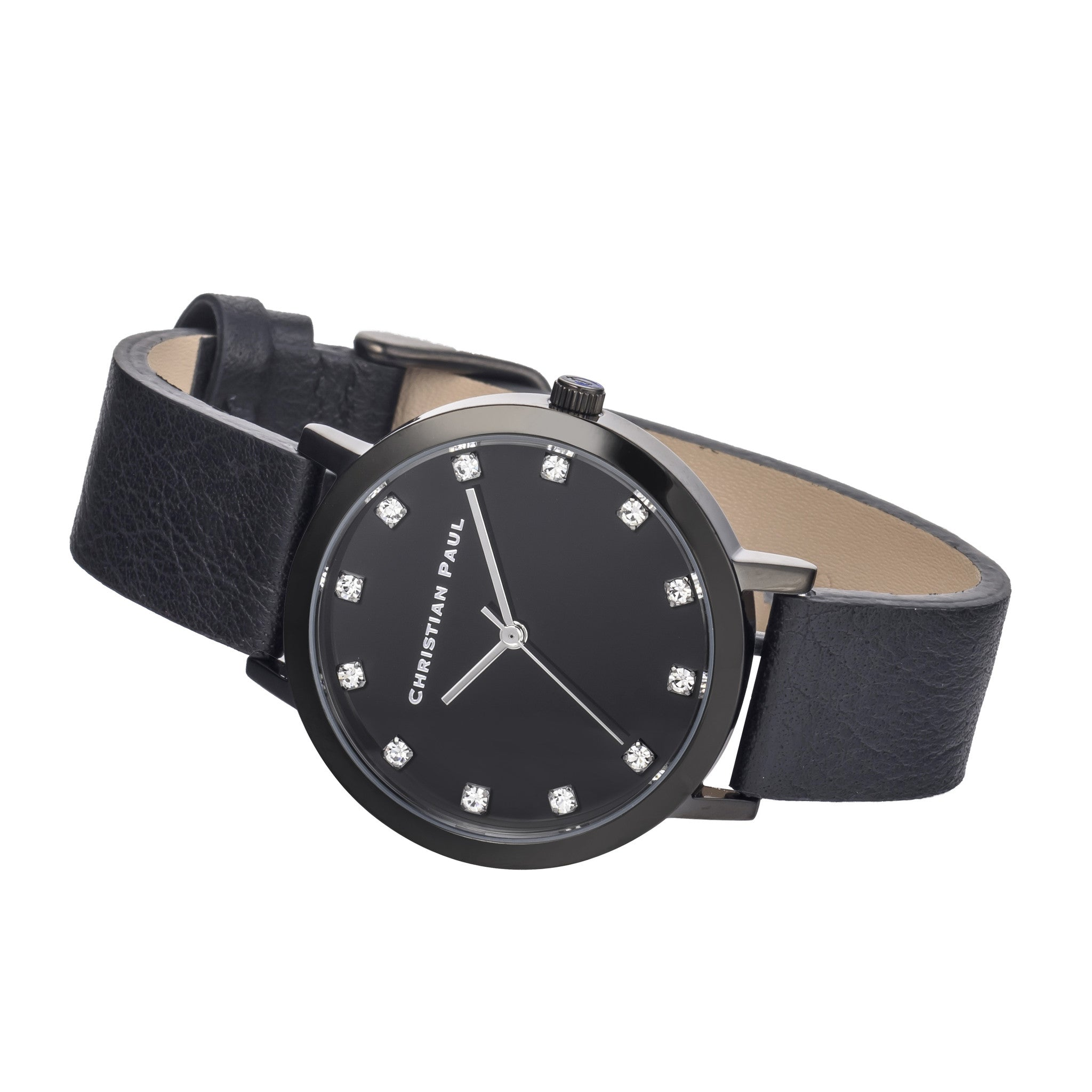 Christian Paul Watch The Strand Luxe 35mm  / Black on Black