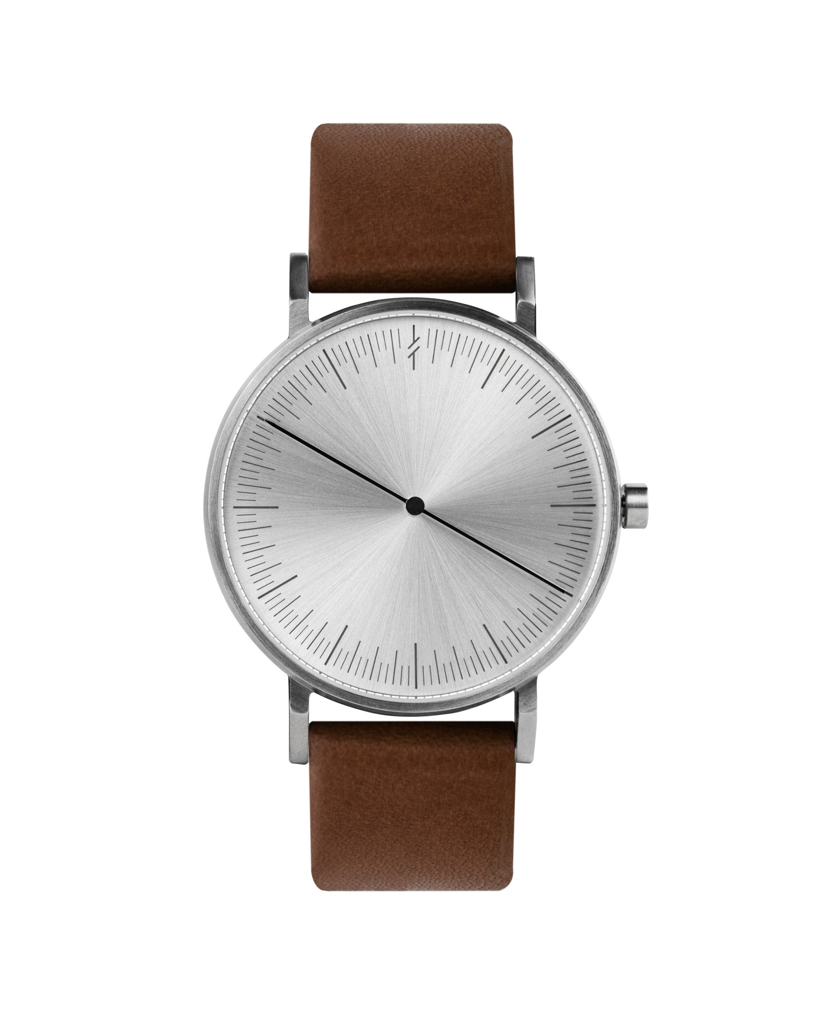 Simpl Watch Silver Brown