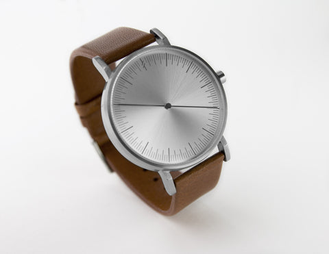 Silver Tan by Simpl Watch