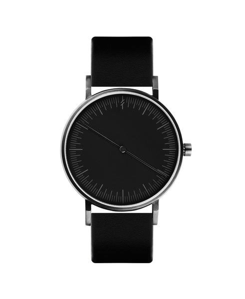 Onyx Black by Simpl Watch | Black-on-black