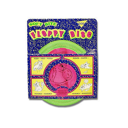 10 INCH FLOPPY FRISBEE DOG TOY - BD Luxe Dogs & Supplies - 1
