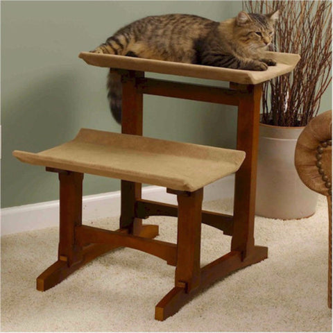 Double Cat Seat Cat Furniture - BD Luxe Dogs & Supplies