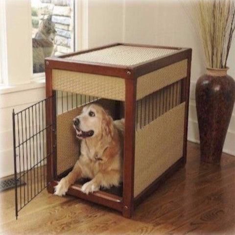 Deluxe Dog Crate - Large - BD Luxe Dogs & Supplies