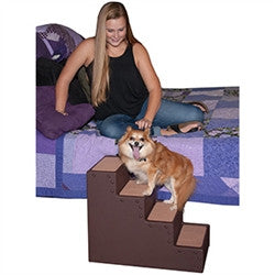 Pet Step IV - Chocolate - BD Luxe Dogs & Supplies