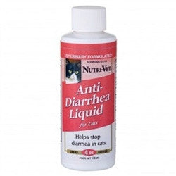 Anti-Diarrhea Liquid for Cats - 4 oz - BD Luxe Dogs & Supplies