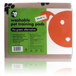"Washable Pet Training Pads - 24""x24"", 2 Pads per pack - BD Luxe Dogs & Supplies"