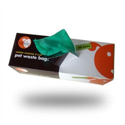 "Large Biodegradable Waste Pick-Up Bags 8""x13"" - BD Luxe Dogs & Supplies"