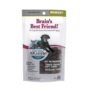 Ark Naturals Gray Muzzle - Brains Best Friend 3.17oz - BD Luxe Dogs & Supplies - 1