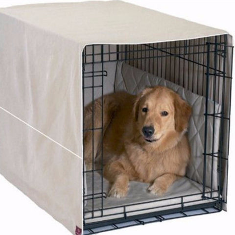 Front Door Dog Crate Cover - Medium - BD Luxe Dogs & Supplies