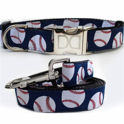 Baseball Collection - All Metal Buckles - BD Luxe Dogs & Supplies - 1