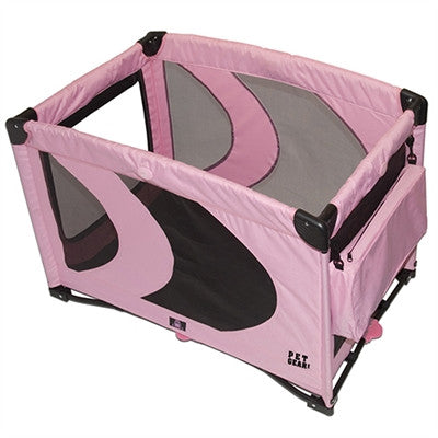 Home 'N Go Pet Pen - Pink Ice - BD Luxe Dogs & Supplies - 1