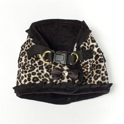 Girly Leopard Harness - BD Luxe Dogs & Supplies - 1