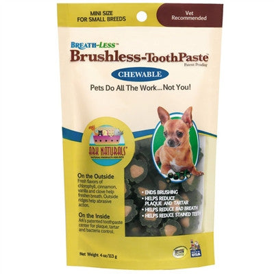 Ark Naturals Breathless Brushless Toothpaste - BD Luxe Dogs & Supplies - 1