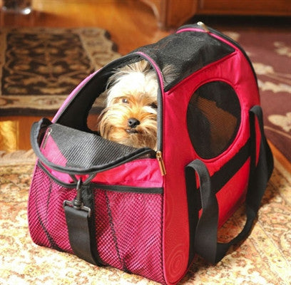 Carry-Me™ Fashion Pet Carrier (2 Colors Available in 2 sizes) - BD Luxe Dogs & Supplies - 1