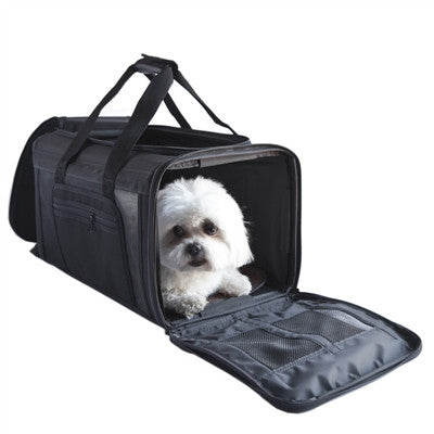 CARLE Black Carrier - BD Luxe Dogs & Supplies - 1