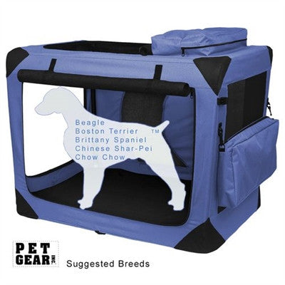 Intermediate Deluxe Soft Crate, Generation II - Lavender - BD Luxe Dogs & Supplies - 1