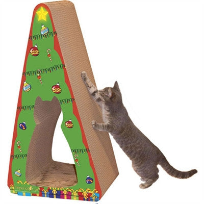 Scratch 'n Shapes Christmas Tree, Giant (2-in-1) Scratcher