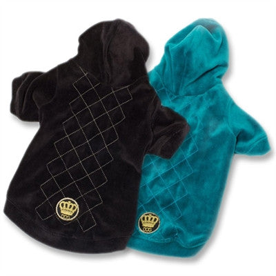 Argyle Hoodie - BD Luxe Dogs & Supplies - 1