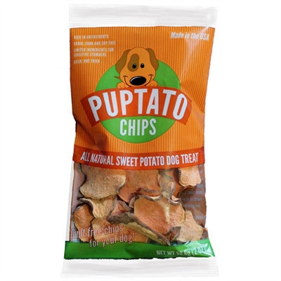 Puptato Chips - Sweet Potato Dog Treat - BD Luxe Dogs & Supplies