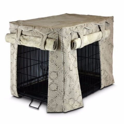 Cabana Pet Crate Cover - Large - BD Luxe Dogs & Supplies