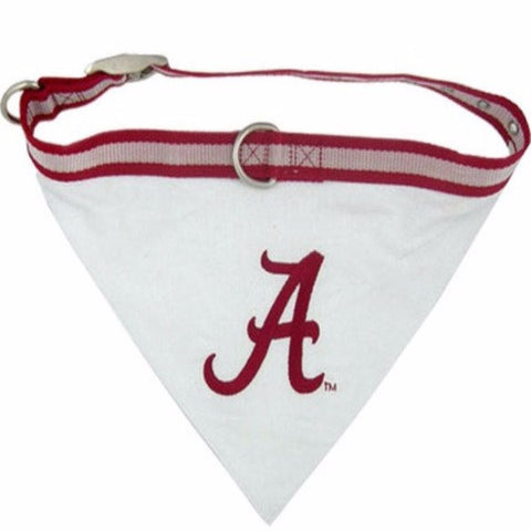 Alabama Crimson Tide Bandana - BD Luxe Dogs & Supplies