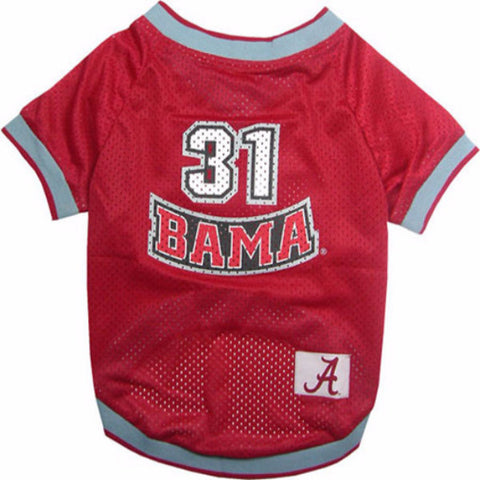 Alabama Crimson Tide Dog Jersey - BD Luxe Dogs & Supplies
