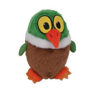 "ASPEN PET LARGE 7"" GRUNTS DUCK TOY - BD Luxe Dogs & Supplies"