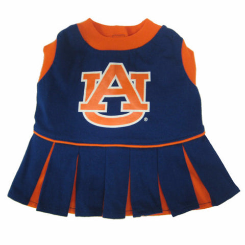 Auburn Tigers Cheerleader Outfit for Dogs - BD Luxe Dogs & Supplies