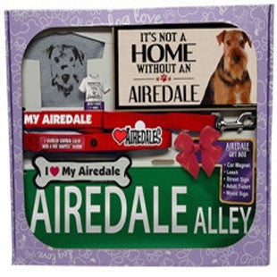 Airedale Lover Gift Box - BD Luxe Dogs & Supplies
