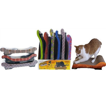 Assorted Sofa Scratch 'n Shape Display Case of 6 - BD Luxe Dogs & Supplies
