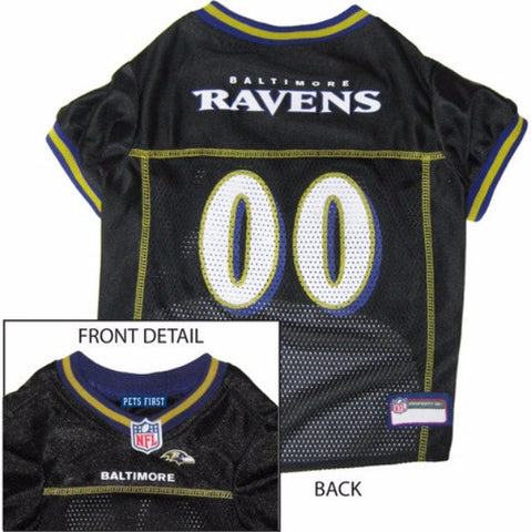 Baltimore Ravens NFL Dog Jersey - BD Luxe Dogs & Supplies
