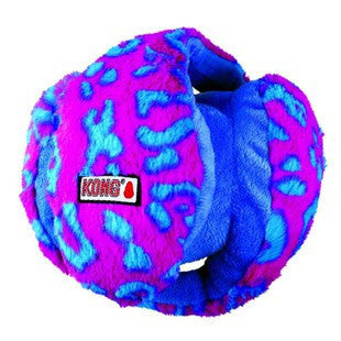 BLUE AND PINK MEDIUM KONG FUNZLER DOG TOY - BD Luxe Dogs & Supplies - 1
