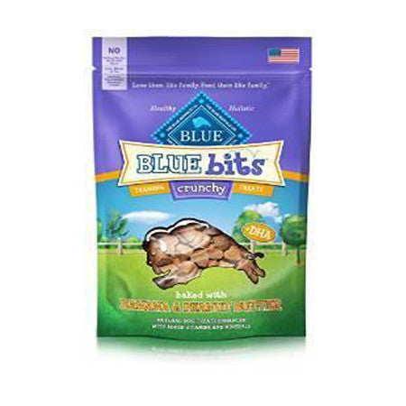 BLUE BUFFALO BLUE BITS BANANA PEANUT BUTTER CRUNCHY TREATS 3OZ