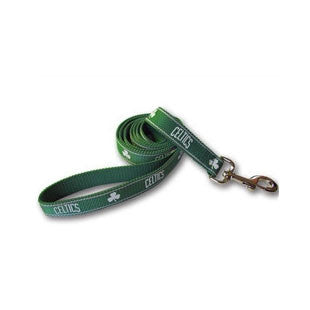 Boston Celtics Dog Leash - Reflective ***3 S, 1 LG left*** - BD Luxe Dogs & Supplies
