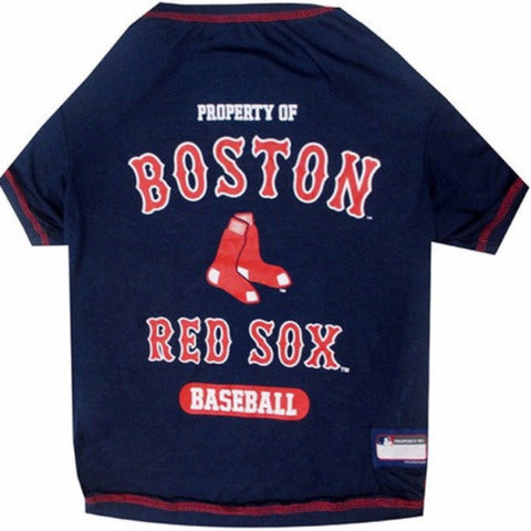 Boston Red Sox Dog Tee Shirt - BD Luxe Dogs & Supplies