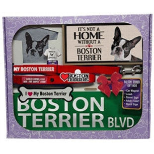 Boston Terrier Lover Gift Box - BD Luxe Dogs & Supplies