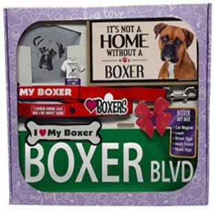 Boxer Lover Gift Box - BD Luxe Dogs & Supplies