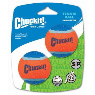 CHUCKIT! SMALL TENNIS BALLS 2 PACK DOG TOY - BD Luxe Dogs & Supplies
