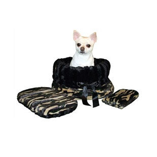 Camo & Black Reversible Snuggle Bug - BD Luxe Dogs & Supplies